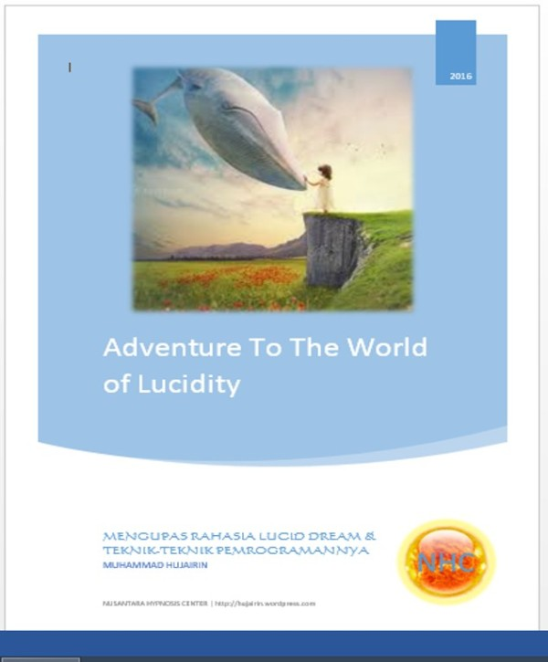 E-Book Adventure to The World of Lucidity